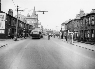 Borough Road 1950s, Birkenhead