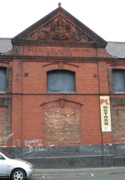 Electric Lighting Station, Birkenhead