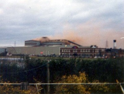 Bidston Steelworks, North End
