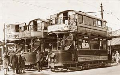 Birkenhead Trams, Woodside