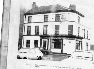 The Commodore Hotel, Birkenhead