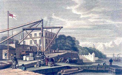 Woodside Ferry 1832, Woodside
