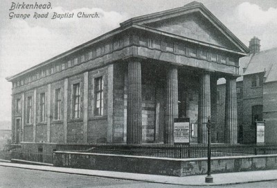 Grange Road Baptist Church, Birkenhead