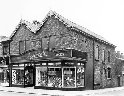 Grange Road and Coburg Street1962, Birkenhead