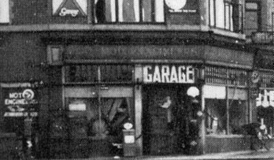 Lowe and Powell Garage, Prenton