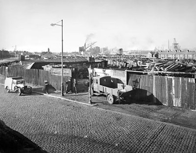 Old Bidston Road 1948, North End