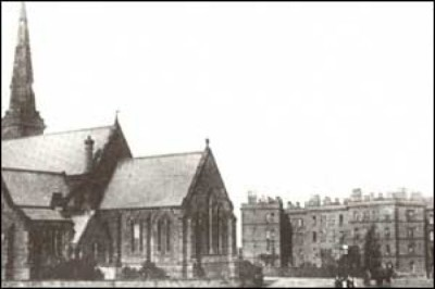 St James Church and Dock Cottages, North End