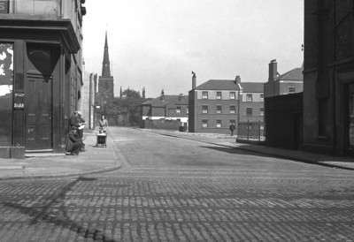St Mary's Gate and Flats and Church, Birkenhead